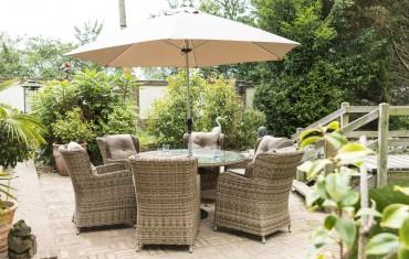 Katie Blake Garden Furniture Seville 6 Seat Dining Set