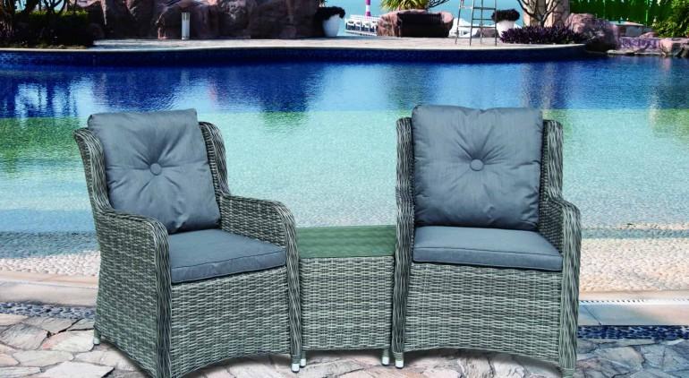 Katie Blake Garden Furniture Seville Companion Set