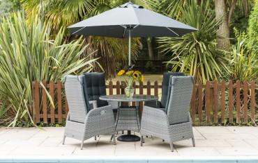 Katie Blake Garden Furniture Sandringham 4 Chair Reclining Set