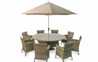 Katie Blake Garden Furniture Sandringham 8 Chair Dining Set