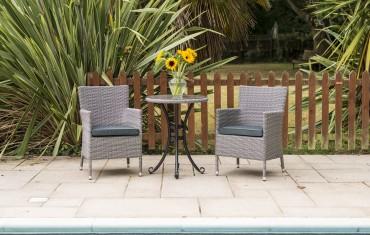 Katie Blake Garden Furniture Sandringham Bistro Set