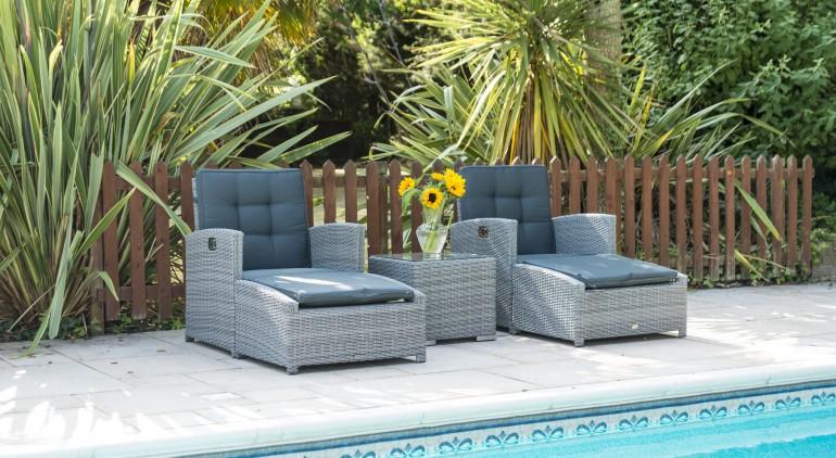 Sandringham Deluxe Reclining Lounge Set