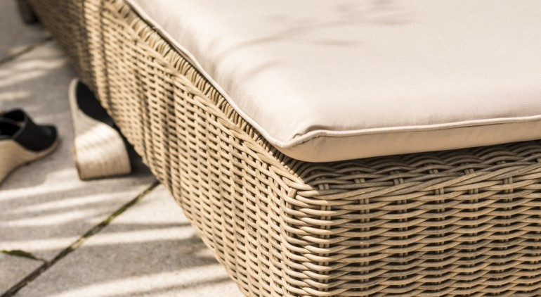 Katie Blake Garden Furniture Mayberry Sun Lounger With Cushion