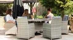 Katie Blake Milan 6 Seat Dining Set