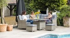Katie Blake Garden Furniture Milan Compact Corner Set
