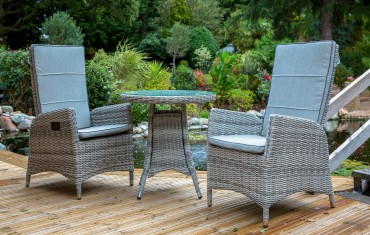 Katie Blake Garden Furniture Flamingo Bistro Set